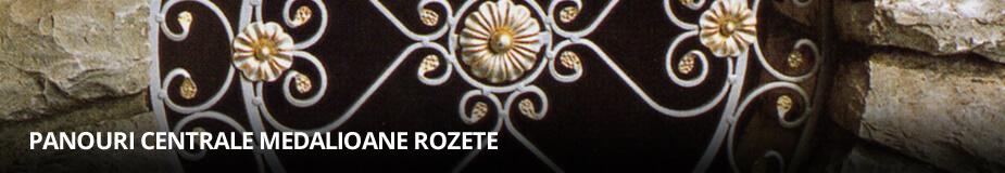 Panouri centrale, Medalioane, Rozete