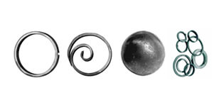 Cercuri și Bile forjate