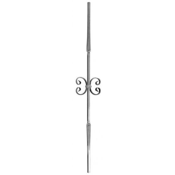 1701/7 Balustru vertical cu 2 C-uri si 2 amprente