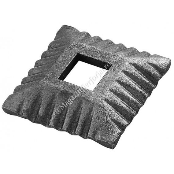 1408/1 Capac mascare placa pentru stalp 26x26mm