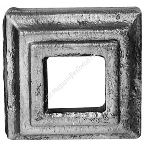 819/2 Capac de mascare cu exterior 60x60mm si interior 25x25mm