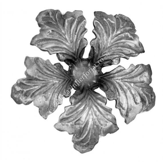 665/1 Floare forjata D=130mm G=4mm
