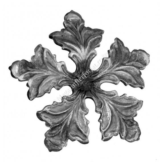 665/2 Floare forjata D=140mm G=4mm