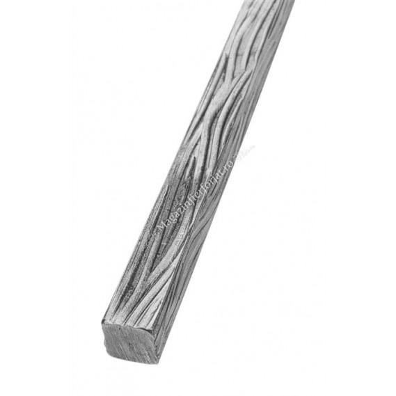623/11 Bara amprentata scoarta copac pe 4 laturi 24x24mm 3ML
