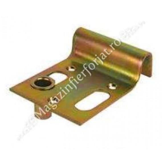 Opritor de poarta aplicat, zincat, cu suport zavor L.140mm