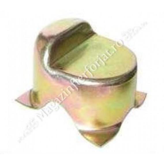 Opritor de poarta ingropat, zincat, cu inaltime reglabila din turnare, 100x75mm