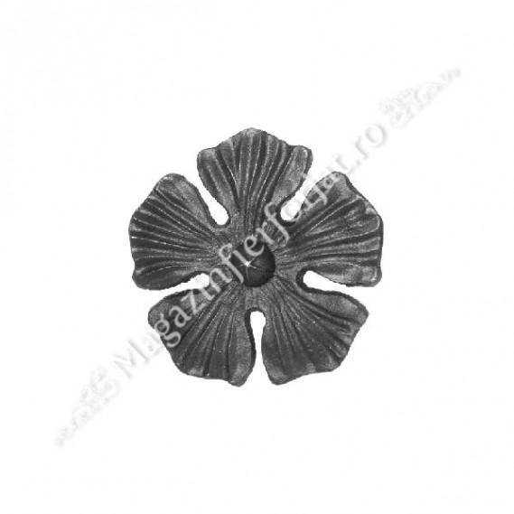 52.134 Floare turnata din aliaj fier-fonta D.135mm si grosime 7mm