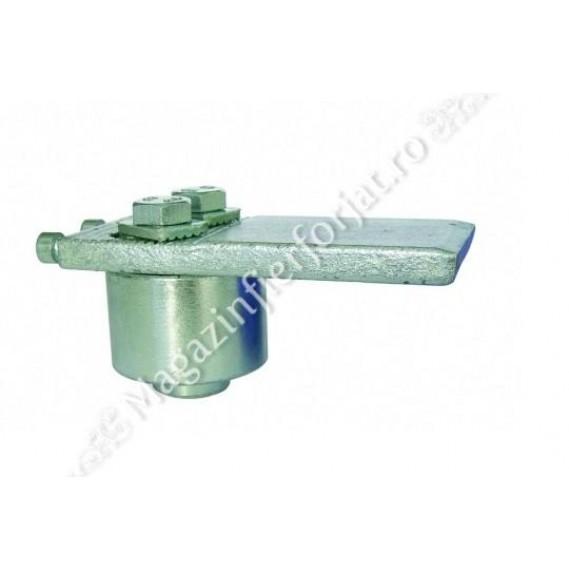 Pivot superior cu rulment, reglabil cu 2 suruburi
