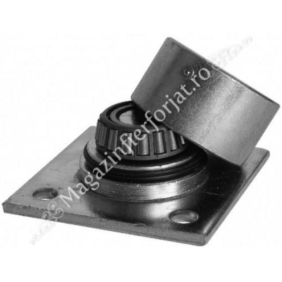 Pivot inferior sudabil cu placa si rulment cu gresor