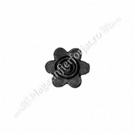 51.513 Floare turnata din otel D.40 mm G.4mm fier forjat