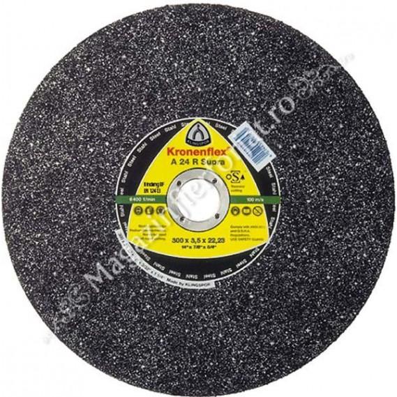 Disc de debitare 300x3 A24R Supra KLINGSPOR