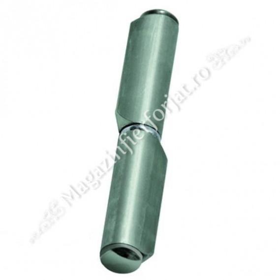 Balama cu forma de LACRIMA cu frecare pe SAIBA FIXA D.14mm H.100mm