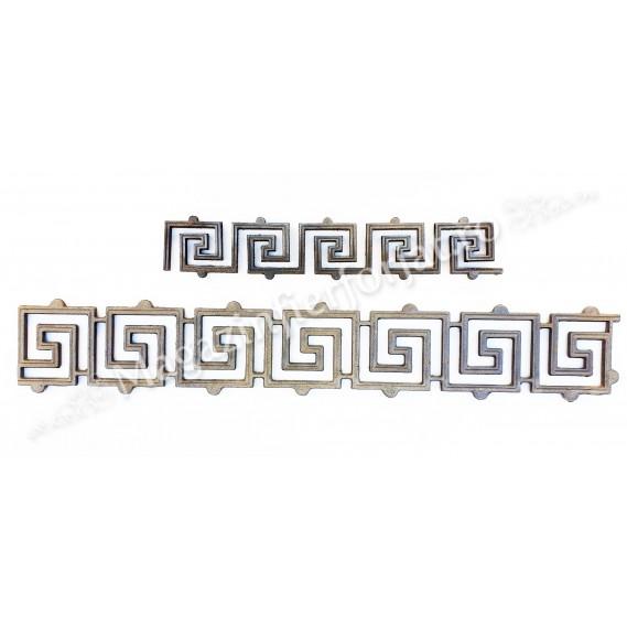 13.266 Ornament model GRECESC 940x150mm turnat din aliaj sudabil fier-fonta
