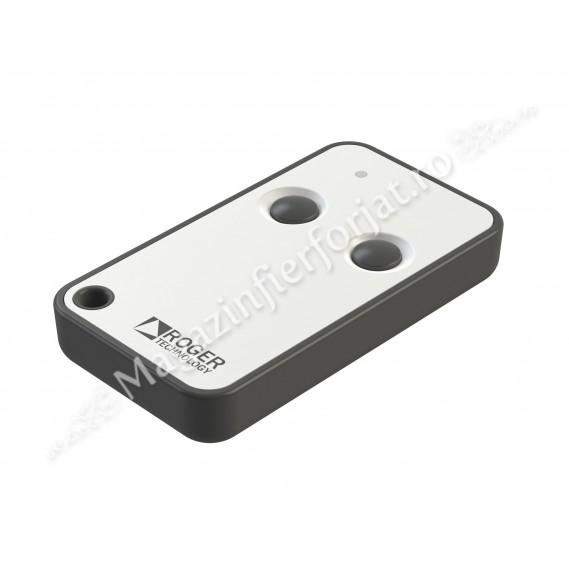 Telecomanda Roger Technology E80/TX52R/2, 2 butoane, 150m