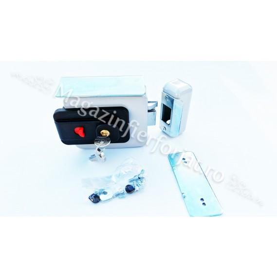 Broasca electromagnetica ICSA 2773EVO REVERSIBILA cu buton de deschidere