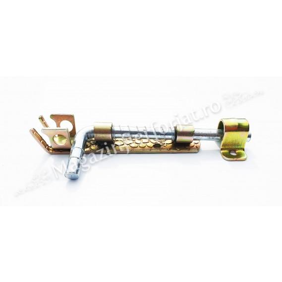 Zavor cu ARC din fier forjat Zincat cu L.100mm D.10mm si pregatire pentru lacat