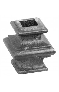 746/1 Pafta turnata din aliaj fier-fonta cu interiorul pentru patrat de 12x12mm cu H.45mm x L.40mm