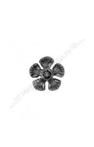 52.133 Floare turnata din aliaj fier-fonta D.85mm si grosime 5mm