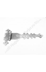 UNV91.3 Balama din fier forjat 525x255x5mm pentru poarta sau usa mare din lemn