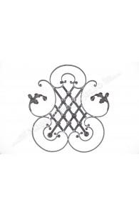 13.049.12 Panou medalion cu frunze si flori 710x640mm din 12x6mm