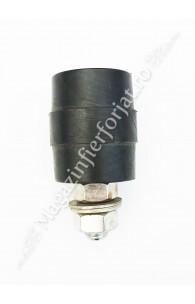60.040.05 Rola de ghidaj din teflon negru D.40mm H.48mm pentru poarta culisanta