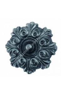 756/4 Floare fier forjat turnata din aliaj fier-fonta D.100mm