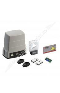 KIT automatizare poarta culisanta Roger Technology Kit BH30/605/HS, 600Kg, 24Vdc, tehnologie motor fara perii pentru trafic intens (societati)