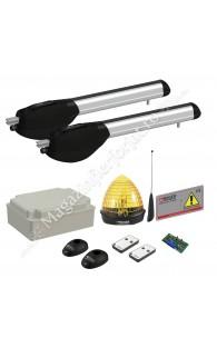 KIT automatizare poarta batanta Roger Technology Kit R20/310, 250Kg, 3ML/canat, 230Vac