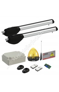KIT automatizare poarta batanta Roger Technology Kit R20/520, 400Kg, 5ML/canat, 230Vac