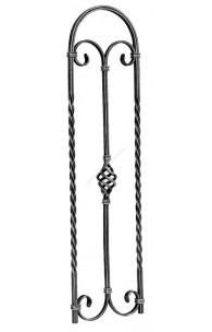 464/1 Balustru cu arcada, cosulet central, rasucit