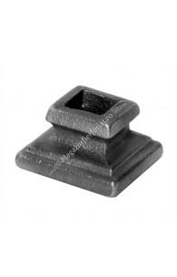 746/4 Pafta turnata din aliaj fier-fonta cu interiorul pentru patrat de 16x16mm cu H.30mm x L.48mm