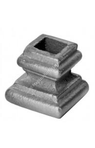 746/6 Pafta turnata din aliaj fier-fonta cu interiorul pentru patrat de 14x14mm cu H.38mm x L.40mm