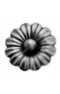 697/3 Floare cu bila forjata D=95mm G=3mm