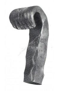 178/24 Terminal plin forjat pentru P=30mm amprentat fete