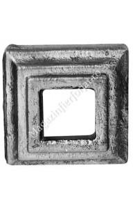 819/16 Capac mascare placa 80x80mm P=40mm
