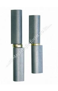 Balama cu forma de LACRIMA cu frecare pe INEL ALAMA D.20mm H.160mm