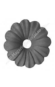 50.015 Floare tabla D=95mm G=2mm fier forjat