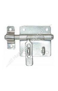 Zavor zincat orizontal L.90mm D.14mm cu pregatire lacat