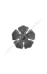 52.134 Floare turnata D=135mm fier forjat