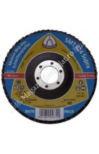 Disc de polizare 125 Gr.40 SMT624 KLINGSPOR