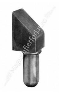 164/8 Pivot de poarta masiv D.22mm pentru Placa 164/10